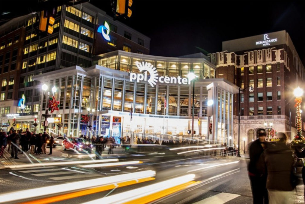 PPL Center in Allentown, PA developed by Hammes Company